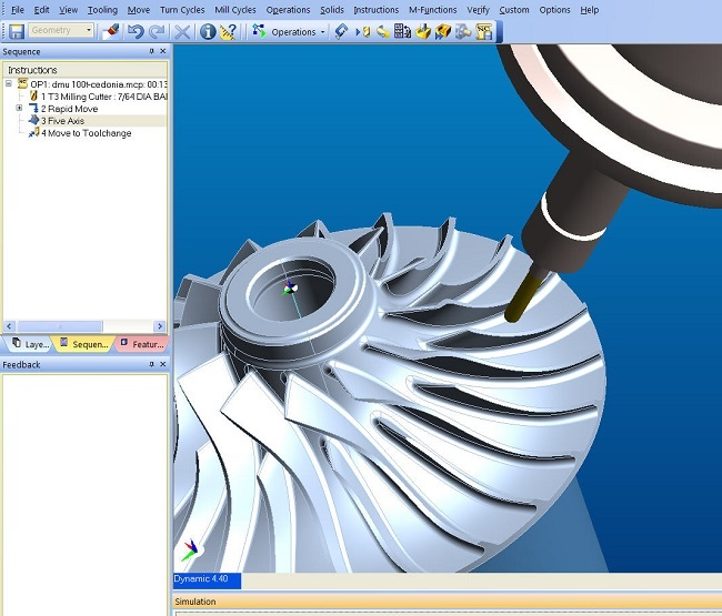 edgecam CAM system multi-axis equipment cutting software