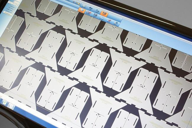 radan cad/cam lokšņu metāla detaļu izvietošana nestings radnest