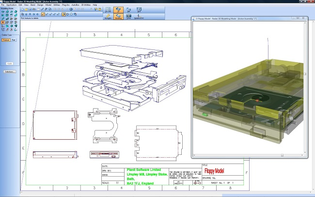 radan cad/cam radan 3d  3d-object handling in sheet metal fabrication