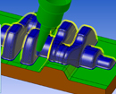 WORKNC Toolpath Viewer provides machine operators the ability to load, analyze and simulate the CAM programming prior to running it on the mill. They can post process for their mill, but they cannot edit or change a cutterpath. This can provide more information than printed process sheets, allowing for fewer work interruptions later.