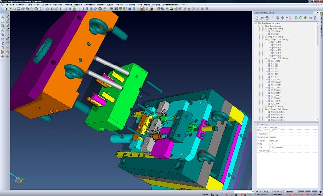 visi CAD/CAM/CAE software mould and die design
