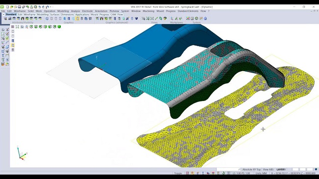 visi CAD/CAM/CAE software mould and die 3d analysis