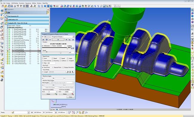 WorNC 2-5-asu apstrādes CAM programmnodrošinājums