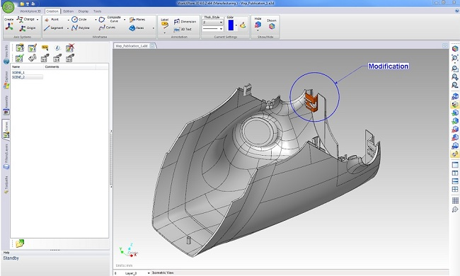 WorkXplore 3D CAD viewer publication tools