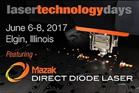 Radan 2017 at Mazak Laser Technology Days, June 6-8 in Illinois