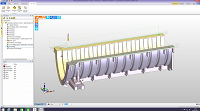 Millions Of Lines Of Edgecam Code Create Rotational Mould Tools